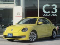 VW ザ・ビートルデザインレザーパッケージ 黒革シート 地デジナビ キセノン