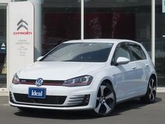 VW ゴルフGTIDCCパッケージ フルセグナビ キセノン 衝突軽減ブレーキ