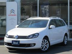 VW ゴルフヴァリアントTSIコンフォートラインプレミアムエディション フルセグナビ