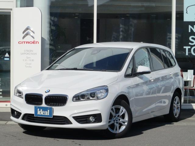 BMW 218dグランツアラー HDDナビ LEDライト 衝突軽減