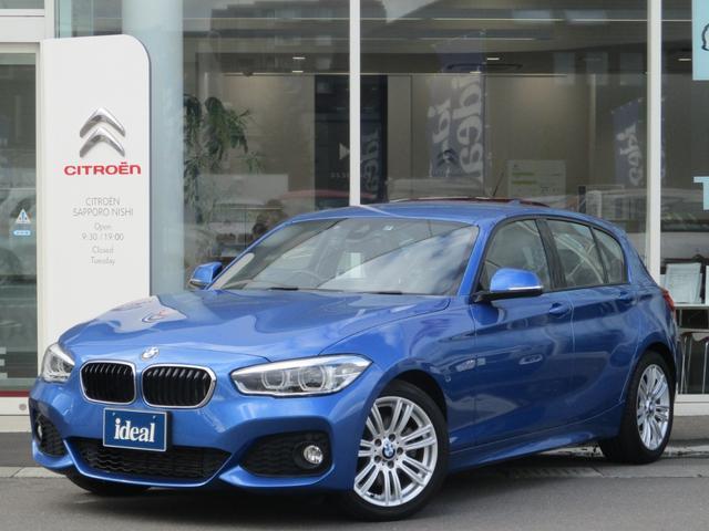 BMW 120i MスポーツS HDDナビ LEDライト 衝突軽減
