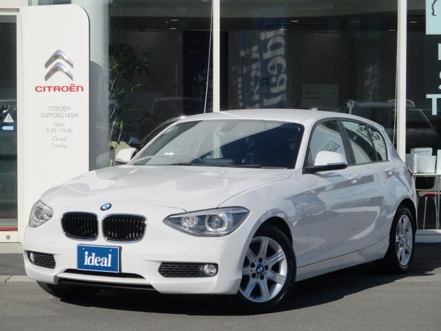 BMW 116i 黒革シート 純正HDDナビ キセノン Bカメラ
