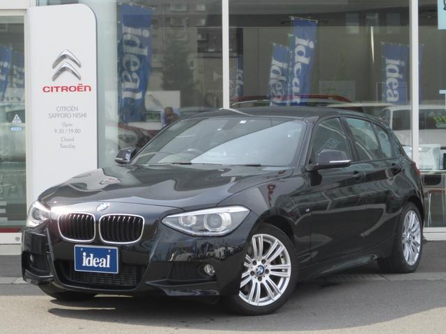 BMW 116i Mスポーツ 純正ナビ キセノン 純正17AW