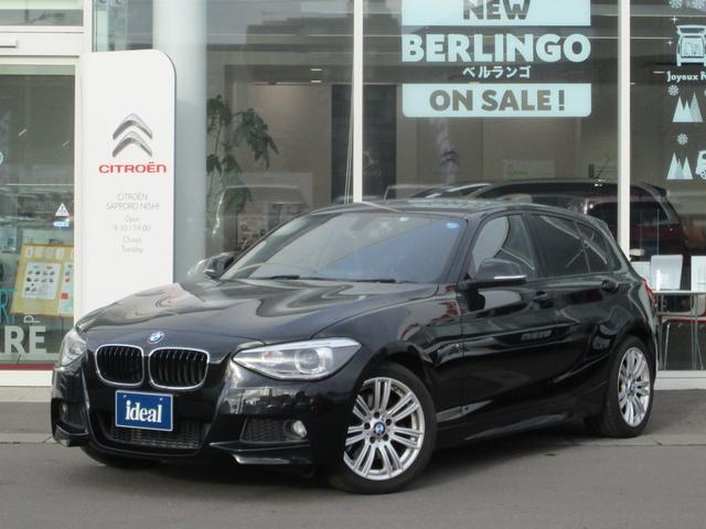 BMW 1シリーズ 116i Mスポーツ フルセグHDDナビ キセノン バックカメラ 純正17AW スマートキー アイドリングストップ ミュージックサーバー Bluetooth接続可 ETC