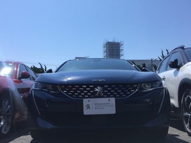 プジョー 508 GTライン プレミアムレザーエディション 当社試乗車・フルセグナビ・電度黒革・LED・Bカメラ・ETC・シートヒーター・衝突軽減・アクティブクルコン・レーンアシスト・オートハイビーム・電動リアゲート・Carplay対応