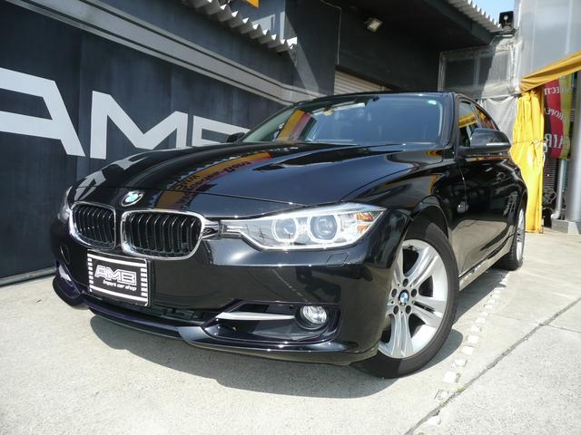 BMW 320i スポーツ1オーナー禁煙車純正ナビBカメラ記録簿