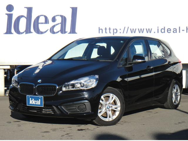 BMW 218iアクティブツアラー 純正HDDナビ LEDライト