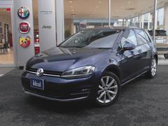 VW ゴルフTSIハイラインブルーモーションテクノロジー フルセグナビ