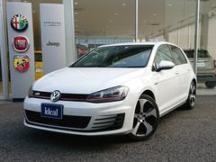 VW ゴルフGTIベースグレード 1オーナー フルセグナビ キセノン ETC