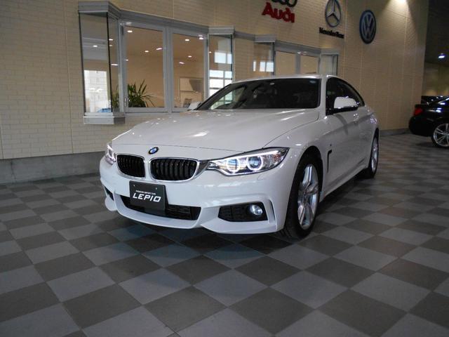 BMW 420iグランクーペ Mスポーツ4WDワンオーナー