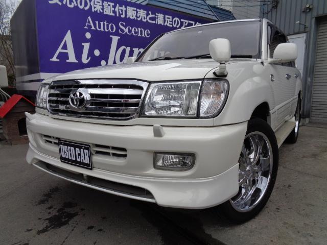 トヨタ ランドクルーザー100 VXリミテッド 4WD 1ナンバー登録