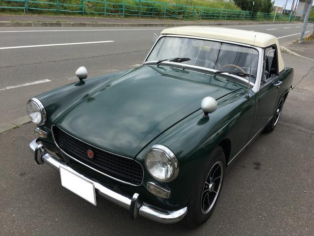 「MG」「MG ミゼット」「オープンカー」「北海道」の中古車