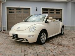 VW ニュービートルカブリオレベースグレード/社外CD/社外スピーカー/社外HID/ETC