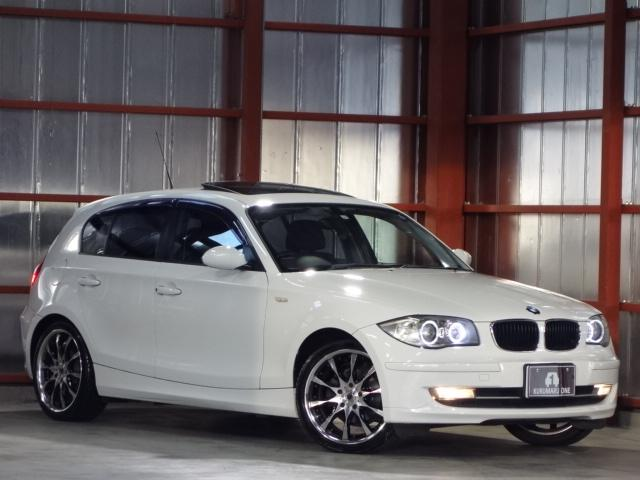 BMW 116i  HDDナビTV SR WORK18AW 冬T有