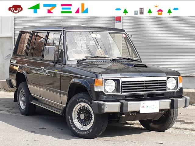 三菱 パジェロ XL ディーゼル ターボ 切替4WD