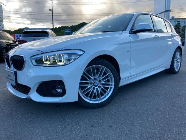 BMW 1シリーズ 118d Mスポーツ 認定中古車レザーシート車検整備付