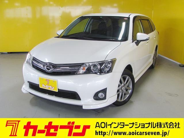 トヨタ 1.5G エアロツアラー・ダブルバイビー 純正HDDナビ