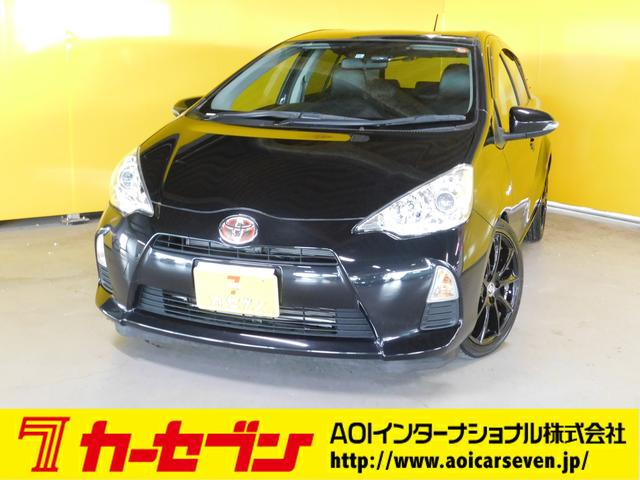 トヨタ S 車高調 社外17AW 社外LEDテールレンズ シートカバ