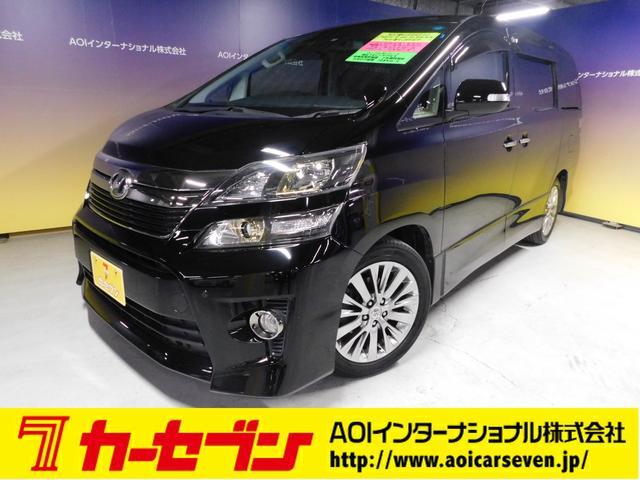 トヨタ 2.4Z ゴールデンアイズII  社外SDナビ 後席モニター