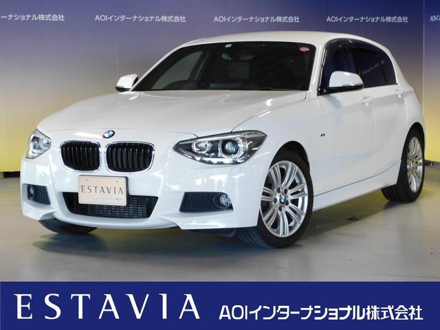 BMW 116i Mスポーツ  純正ナビ フルセグTV レザーシート