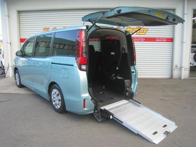 トヨタ X 福祉車スロープタイプI 車いす2脚仕様 ナビTVパワスラ