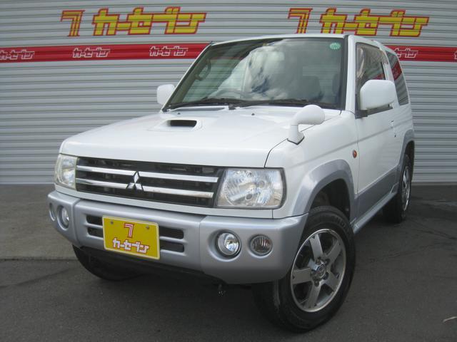 三菱 アクティブフィールドEd ターボ4WD 1オーナ HDDナビ