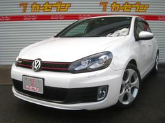VW ゴルフGTI 黒革 HDDナビTV Bカメラ HID 17AW