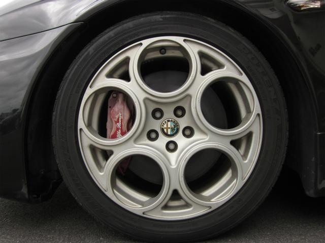 アルファロメオ アルファ156 GTA イモラレザー V6エンジン 左H6速MT