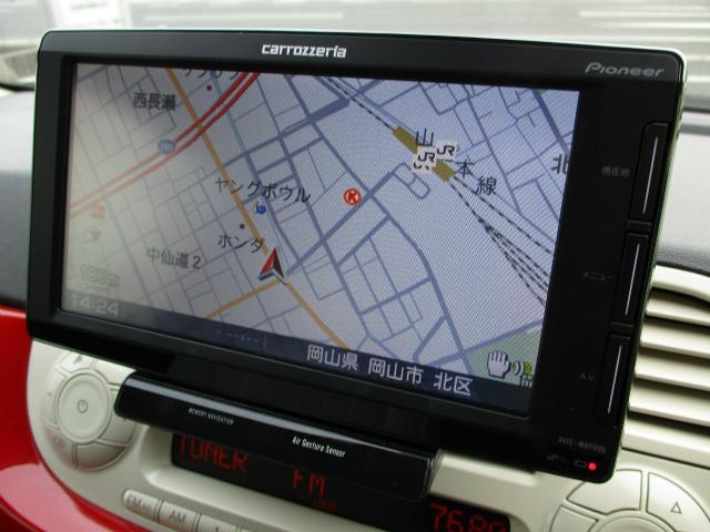 フィアット フィアット 500 1.4 16V ラウンジ 純正AW ポータブルナビ ETC
