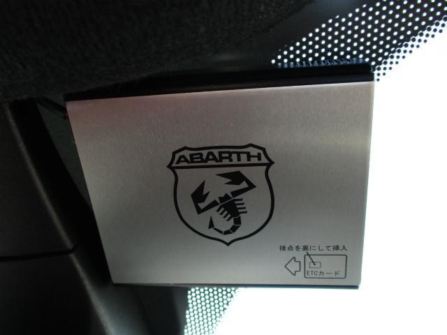アバルト アバルト アバルト595 ツーリズモ 地デジナビ バックカメラ ETC