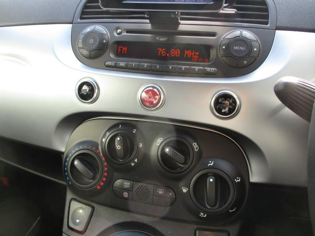 フィアット フィアット 500S ツインエア ワンオーナー ポータブルナビ 5速マニュアル