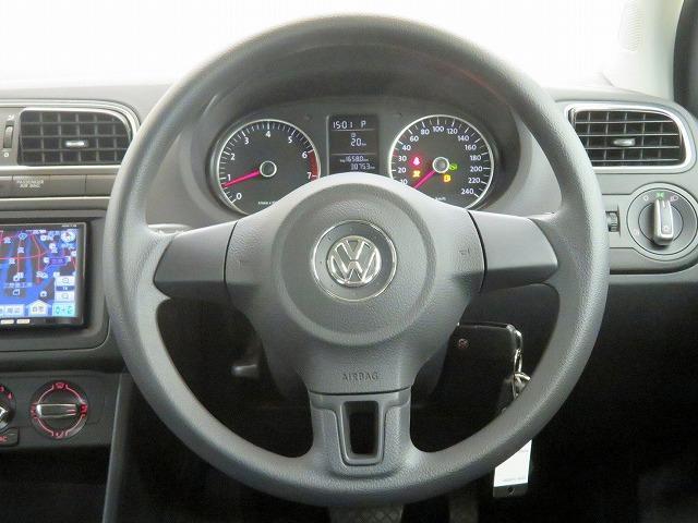 フォルクスワーゲン VW ポロ TSIコンフォートライン ECLIPSE製SDナビ Bカメラ