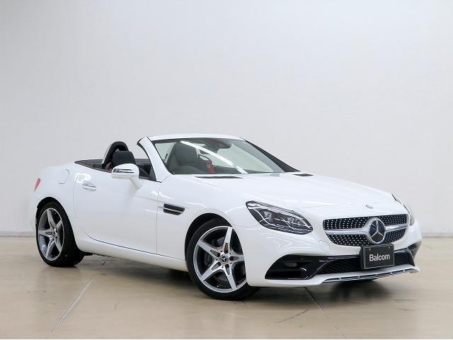 SLC180 スポーツ ブラックレザーシート パワーシート ディスタンスパイロット ブラインドスポットアシスト レーンキープアシスト パドルシフト ドライブレコーダー LEDヘッドライト 純正18アルミホイール(16枚目)