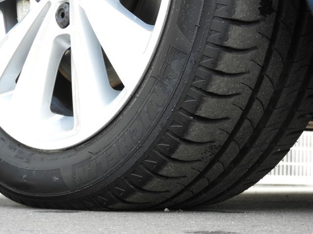 ■左前タイヤ状態 タイヤにつきましては車検対応状態に満たない場合、弊社にて交換して納車させていただきますのでご安心下さい。