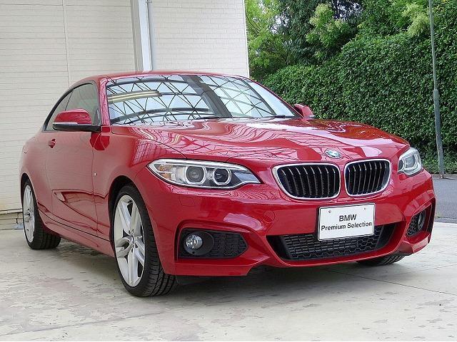 BMW BMW 220iクーペ MスポーツOP18AWPサポートスマートキー