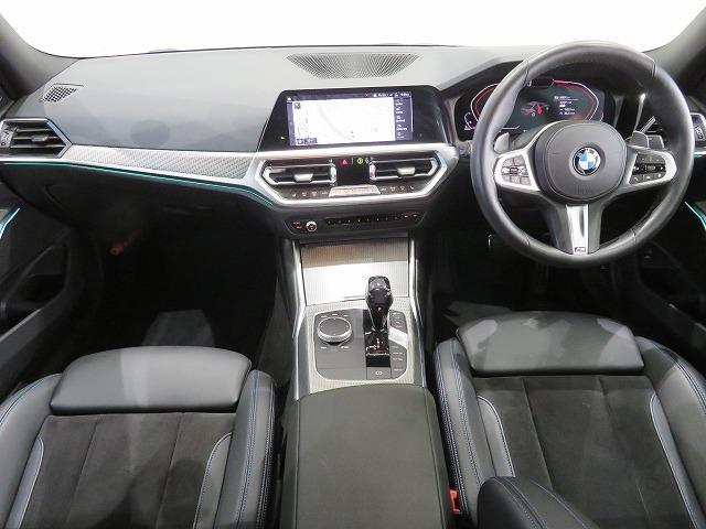 320d xDrive Mスポーツ コンフォートPKG LEDヘッドライト 18AW PDC オートトランク コンフォートアクセス シートヒーター 純正ナビ iDriveナビ トップ リアビューカメラ 純正ETC Aクルコン 認定中古車(3枚目)