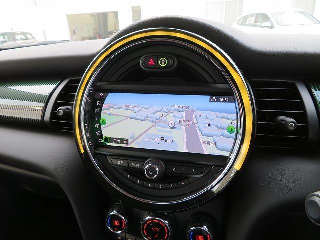 クーパーSD 60イヤーズエディション LEDヘッドライト 17インチアルミ PDC レザーシート 純正ナビ iDriveナビ リアビューカメラ 純正ETC アクティブ クルーズ コントロール ストップゴー クリーンディーゼル 認定中古車(10枚目)
