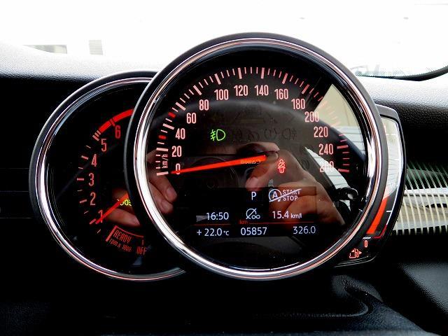 クーパーSD 60イヤーズエディション LEDヘッドライト 17インチアルミ PDC レザーシート 純正ナビ iDriveナビ リアビューカメラ 純正ETC アクティブ クルーズ コントロール ストップゴー クリーンディーゼル 認定中古車(11枚目)