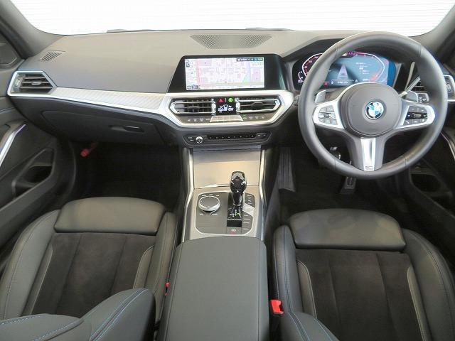 320d xDriveツーリング Mスポーツ コンフォートPKG LEDヘッドライト 18AW PDC オートトランク コンフォートアクセス シートヒーター 純正ナビ iDriveナビ トップ リアビューカメラ 純正ETC Aクルコン 認定中古車(3枚目)