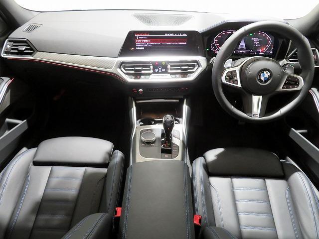 M340i xDrive レーザーライト 19AW PDC 黒革 パーキングアシストプラス 純正ナビ iDriveナビ 地デジ フルセグ HUD 純正ETC アクティブ クルーズ コントロール レーンチェンジ 認定中古車(3枚目)