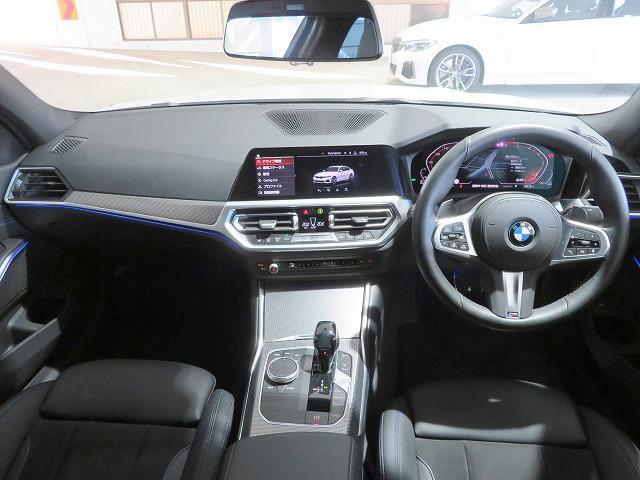 320d xDrive Mスポーツ LEDライト 18AW コーナーセンサー スマートキー 純正ナビ バックカメラ 純正ETC アクティブクルーズコントロール レーンチェンジ&レーンディパーチャーウォーニング 認定中古車(3枚目)