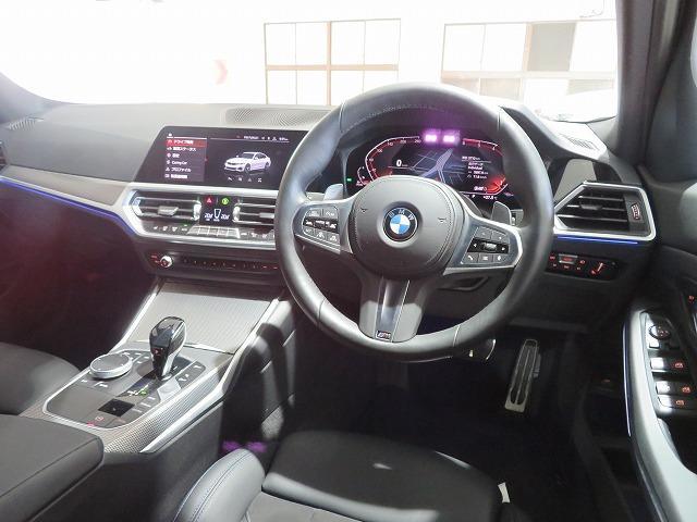 320d xDrive Mスポーツ LEDライト 18AW コーナーセンサー スマートキー 純正ナビ バックカメラ 純正ETC アクティブクルーズコントロール レーンチェンジ&レーンディパーチャーウォーニング 認定中古車(4枚目)