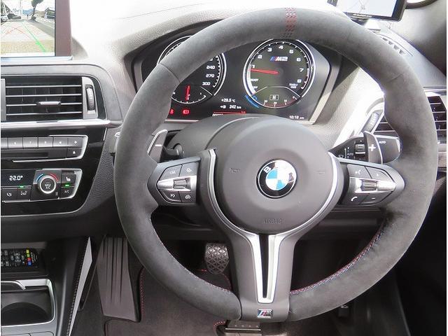 M2 Coupe CS 全国60台限定 LEDヘッドライト 19AW レザーシート 専用ブラックレザー 純正ナビ リアビューカメラ 純正ETC クルーズコントロール 認定中古車(4枚目)
