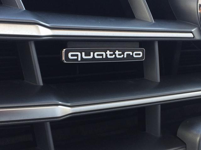 ■クワトロ アウディを象徴する『クワトロ』ハイエンドモデルにだけ許される称号。先進のフルタイム4WDクワトロは様々な路面状況においても4輪にトラクションを適正配分し、高次元の走行性を実現します。