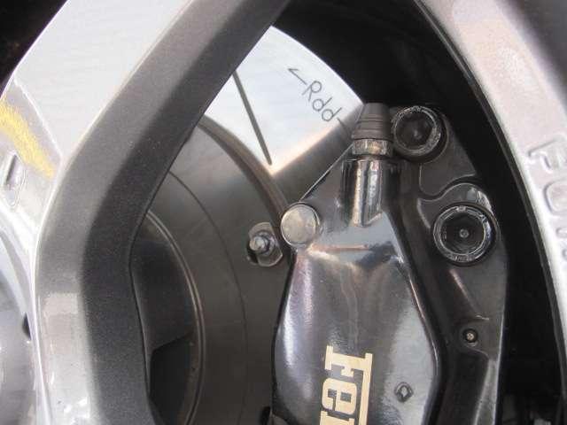 ブレーキローターはRdd製に交換しています