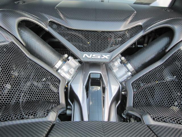 オプションカーボンエンジントリム