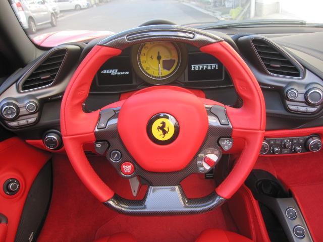 「フェラーリ」「フェラーリ 488スパイダー」「オープンカー」「広島県」の中古車11