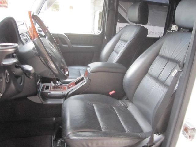 運転席、助手席メモリーパワーシート