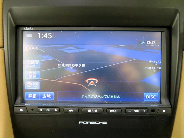 ポルシェ ポルシェ ケイマン ベースグレード Clarion製HDDナビ ワンセグTV