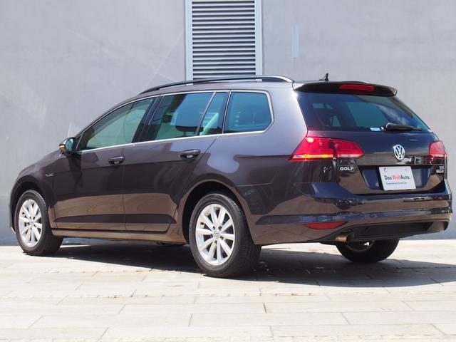 フォルクスワーゲン VW ゴルフヴァリアント ラウンジ 限定車 純正ナビ バックカメラ ACC 認定中古車